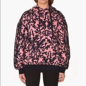 Adidas Hoodie Super Pop AOP Hoodie Floral XS